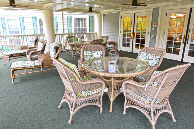 Brookdale Historic Roswell Senior Living In Roswell GA - Patio furniture roswell ga