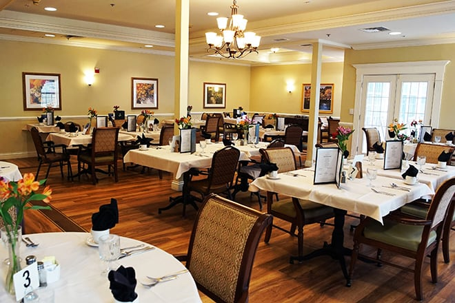 Brookdale Hockessin Dining Room
