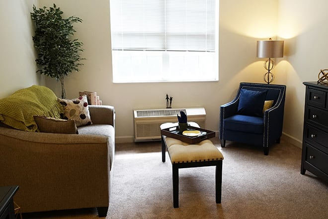 Brookdale Hockessin Living Room