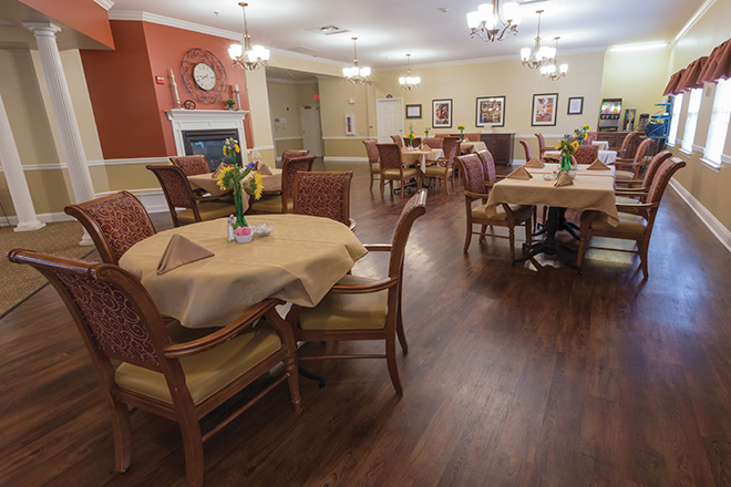Brookdale Johnson City Dining Room