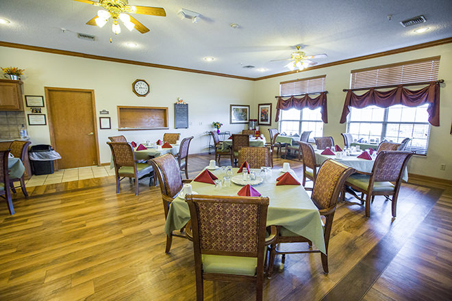Brookdale Junction City  Dining Room