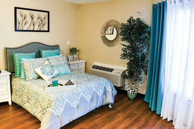 Brookdale Lake Charles Bedroom