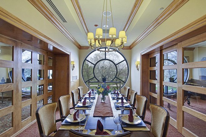 Brookdale Lake Shore Drive  Private Dining Room