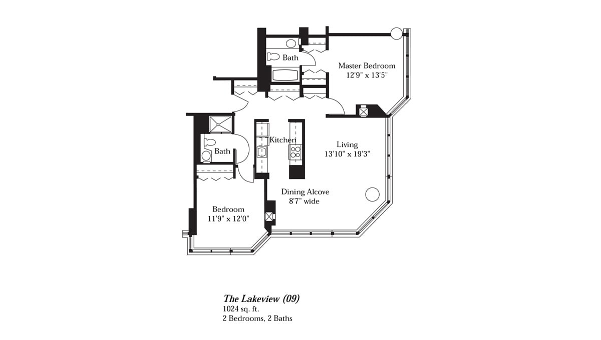 Brookdale Lake Shore Drive Floor Plan Lakeview