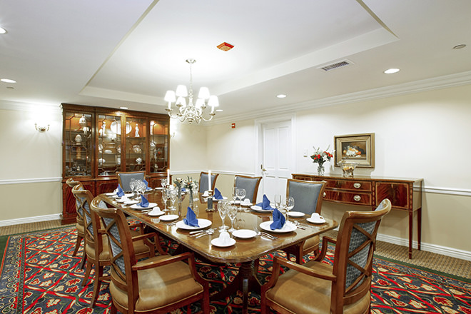 Brookdale Lake View  Private Dining Room