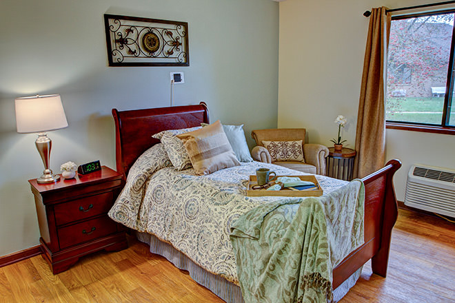 Brookdale Lakeview Crossing  Bedroom