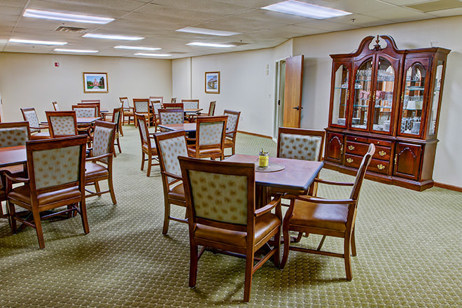 Brookdale Lakeview Crossing  Dining Room
