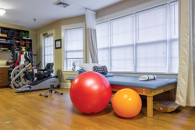 Brookdale Lawndale Park Fitness Room