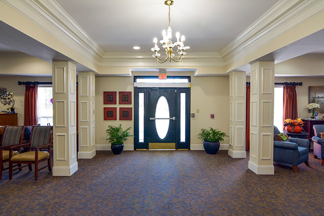 Brookdale Lawrenceville Foyer