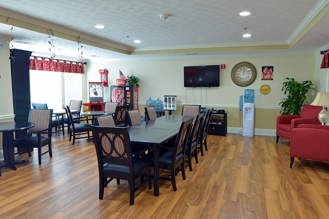 Brookdale Lawrenceville Dining Room