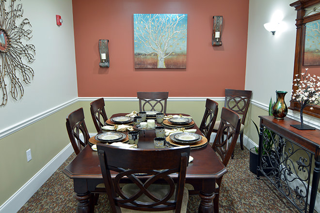 Brookdale Lawrenceville Private Dining Room