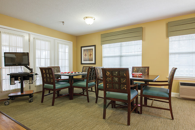 Brookdale Lexington  Activity Room