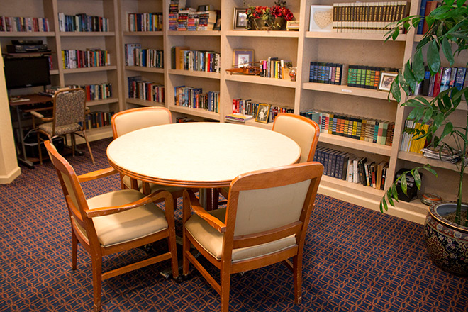 Brookdale Lisle Skilled Nursing Library