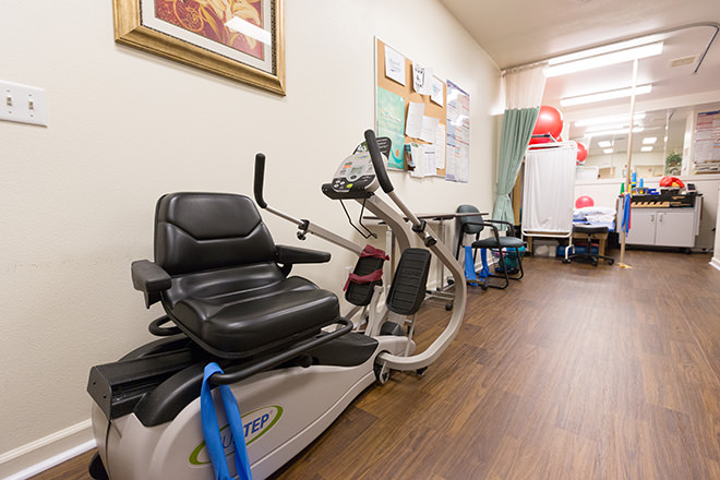 Brookdale Lodi Fitness Room