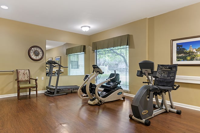 Brookdale Lohmans Crossing Fitness Center
