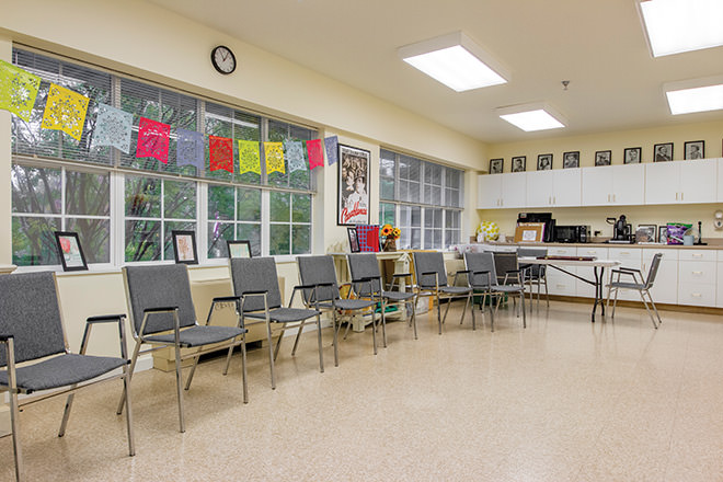 Brookdale MacArthur Park Activity Room