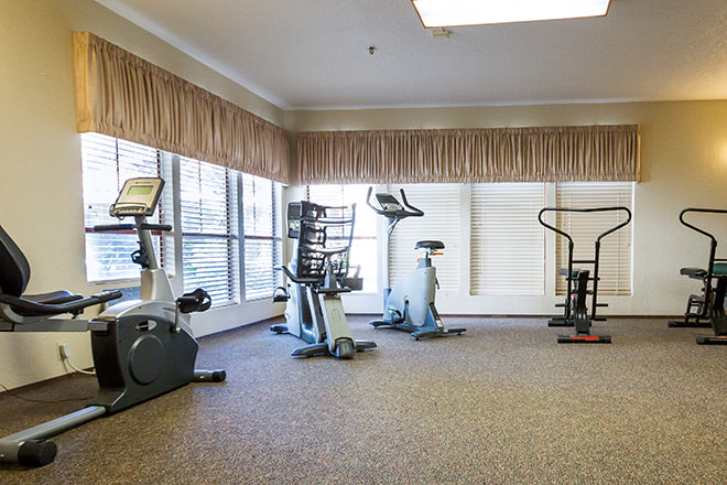 Brookdale Manteca Fitness Room