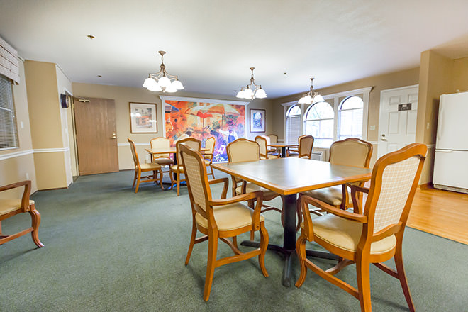 Brookdale Manteca Activity Room
