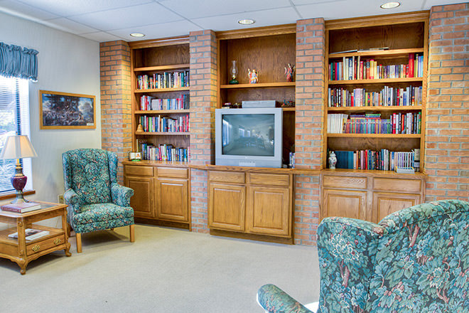 Brookdale Marietta TV Room