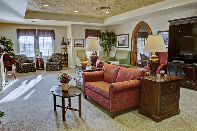 Brookdale Marysville  Community Living Room