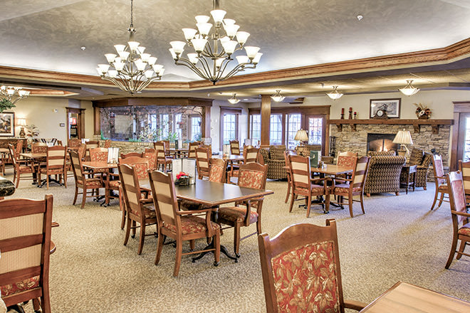 Brookdale Marysville  Dining Room
