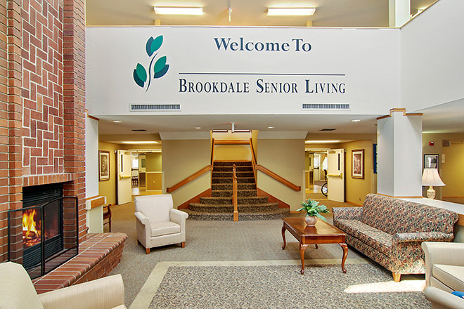 Brookdale McMinnville City Center Foyer