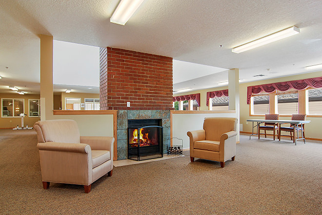 Brookdale McMinnville City Center Community Living Room
