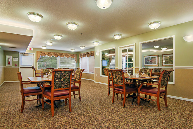 Brookdale McMinnville City Center Dining Room