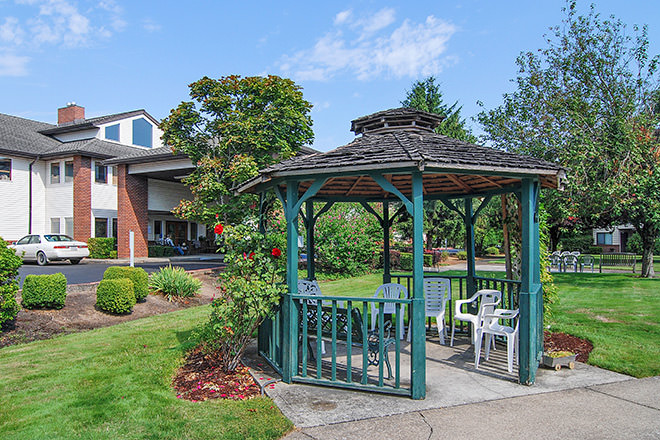 Brookdale McMinnville City Center Gazebo