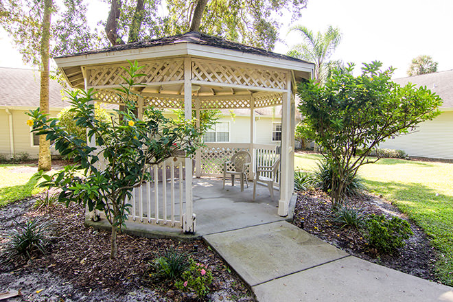 Brookdale Melbourne  Gazebo