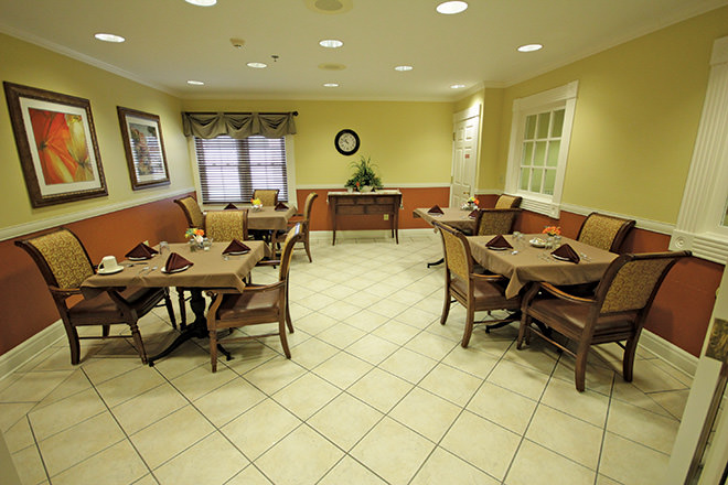 Brookdale Meridian Dining Room