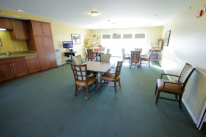 Brookdale Meridian  Activity Room