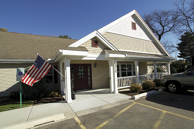 Brookdale Middleton Century Ave Entrance