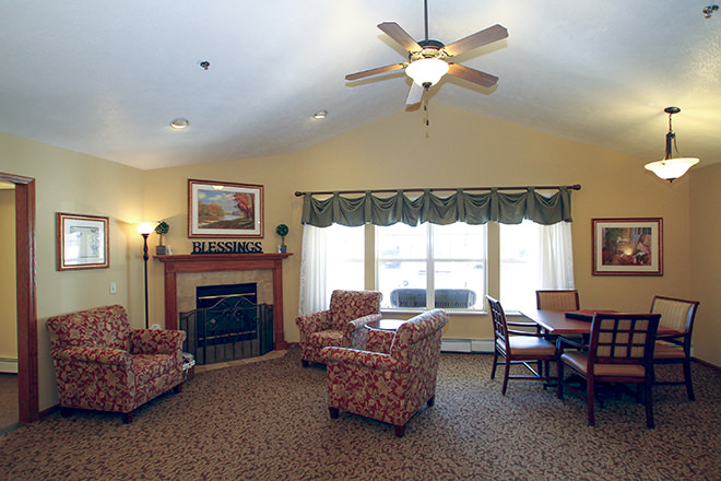 Brookdale Middleton Century Ave Community Living Room