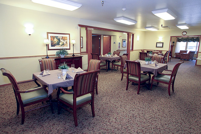 Brookdale Middleton Century Ave Dining Room