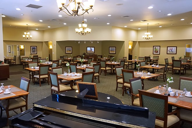 Brookdale Midland Dining Room