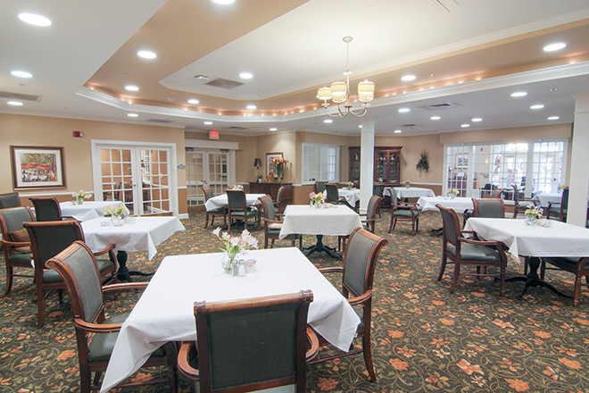Brookdale Midlothian Dining Room