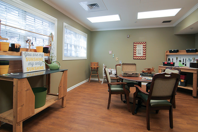 Brookdale Midlothian Memory Care Area