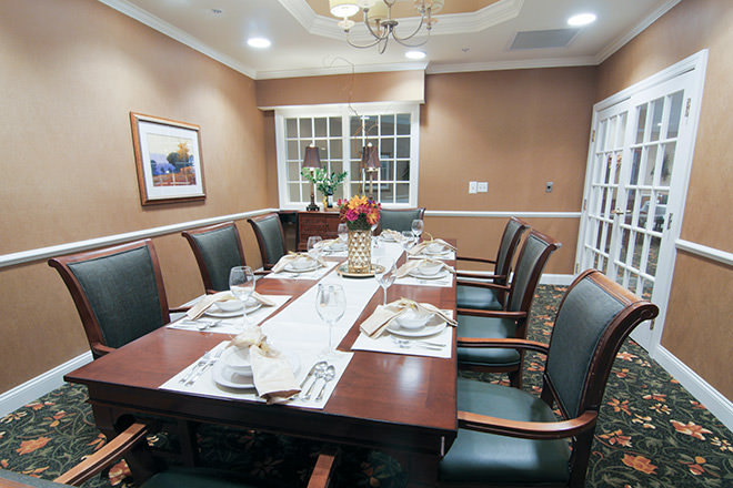 Brookdale Midlothian  Private Dining Room
