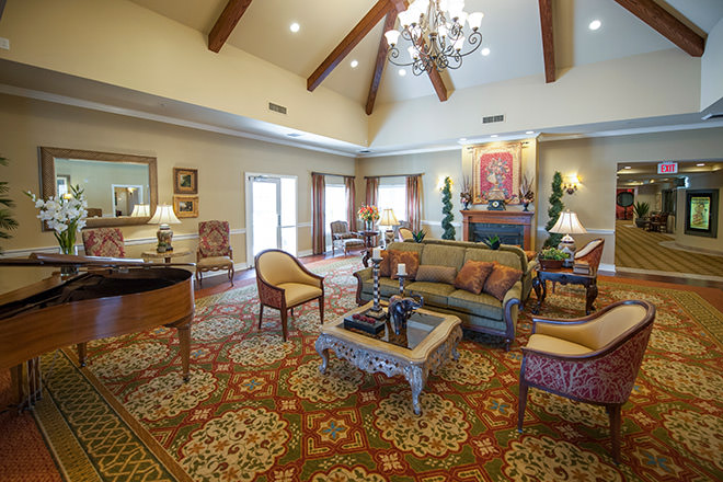 Brookdale Mirage Inn Grand Living Room