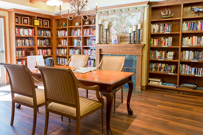 Brookdale Mirage Inn Library
