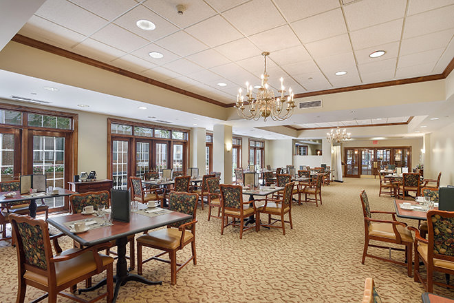 Brookdale Monroe Dining Room