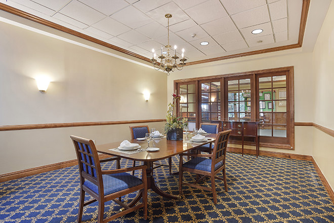 Brookdale Monroe Private Dining