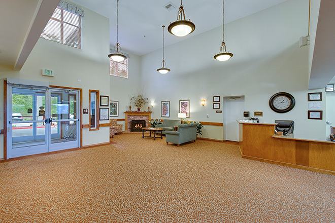 Brookdale Montclair Poulsbo Foyer