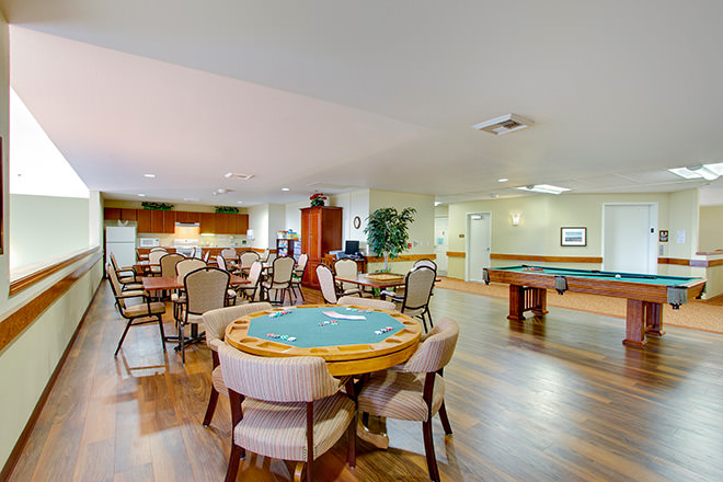 Brookdale Montclair Poulsbo Activity Room