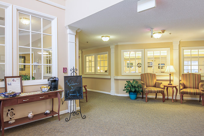 Brookdale Morehead City Foyer