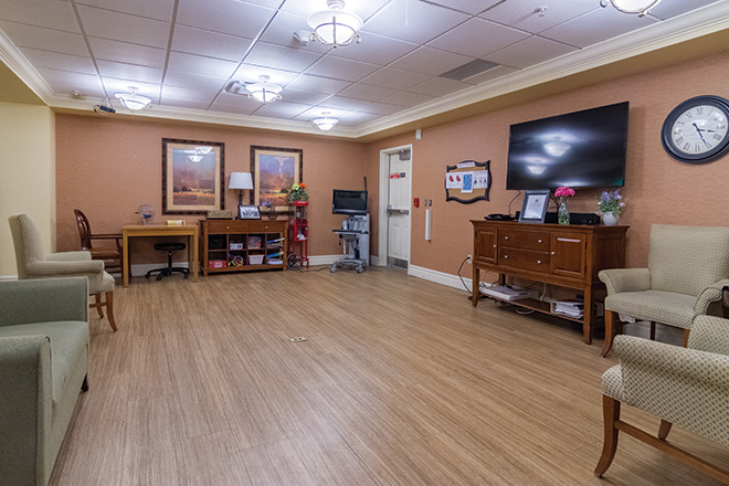 Brookdale Mountain View Skilled Nursing Common Area