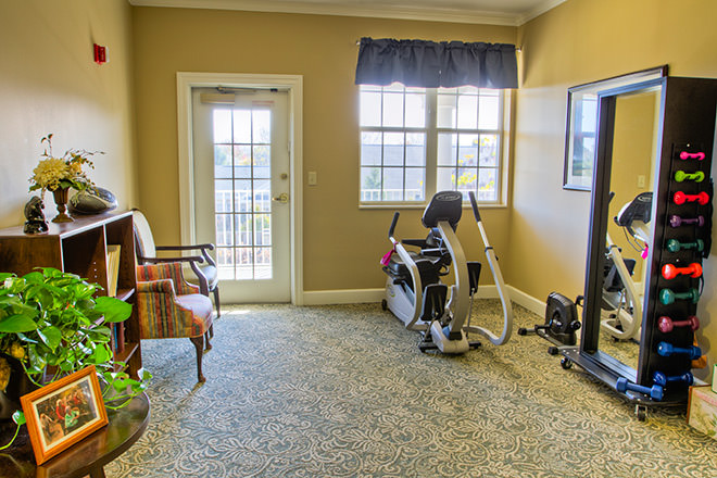 Brookdale Muirfield Fitness Area