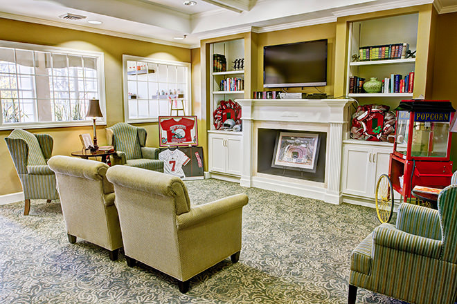 Brookdale Muirfield TV Room