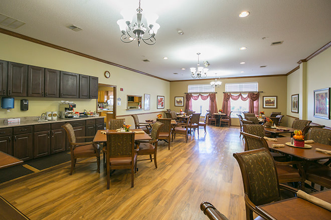 Brookdale New Braunfels Dining Room